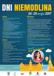 Dni Niemodlina 2017 plakat
