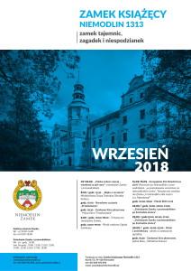 Plakat ZAMEK Wrzesień-1