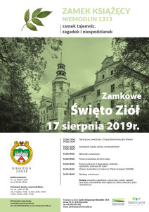 plakat ZAMKOWE ŚWIĘTO ZIÓŁ-2