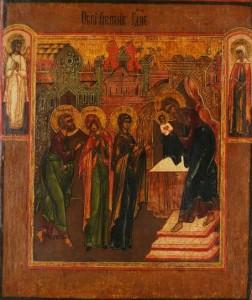 ofiarowanie Chrystusa w Światyni